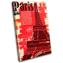 Paris Eiffel Tower Landmarks - 13-1192(00B)-SG32-PO